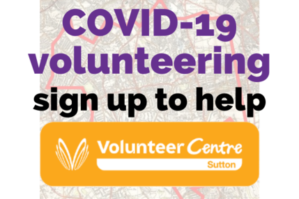 Covid 19 sign up to help 6 x 4