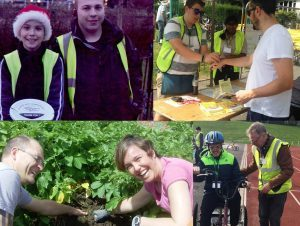 Ecolocal volunteer montage