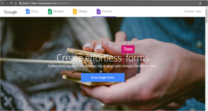 Google Forms screenshot