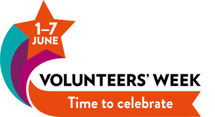 Volunteers' Week 2019 time to celebrate logo