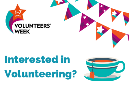Volunteers Week 2019 website image drop in session